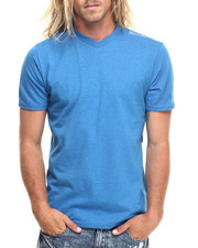 Shirts - Heathered V-Neck Tee