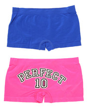 Sizes 7-16 - Big Kids - Perfect Ten 2Pk Seamless Shorts