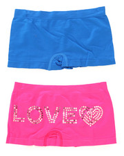 Sizes 7-16 - Big Kids - Sequin Love 2Pk Seamless Shorts
