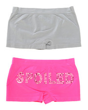 Sizes 7-16 - Big Kids - Sequin Spoiled 2Pk Seam Less Shorts