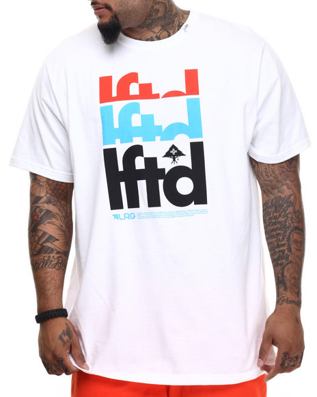 LRG - Men White Lftd T-Shirt (B & T)