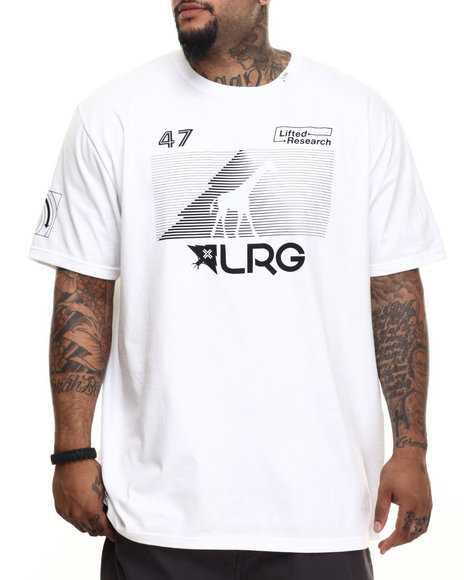 LRG - Men White Rc Multi Hit T-Shirt (B & T)