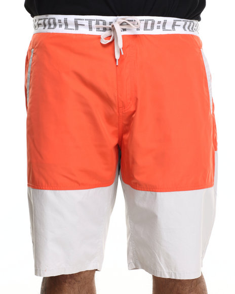 Lrg - Men Orange Burial Walk Short (B&T) - $50.99