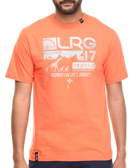 LRG - Men Orange Journeyman T-Shirt