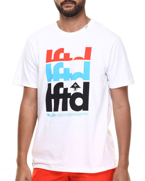 LRG - Men White Lftd T-Shirt