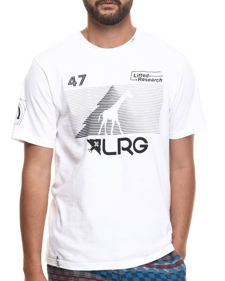 Ur-ID 217292 LRG - Men White Rc Multi Hit T-Shirt