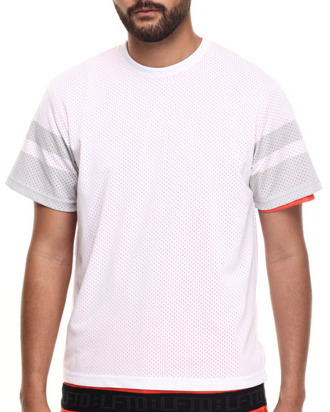 LRG - Men White Signals S/S Knit T-Shirt