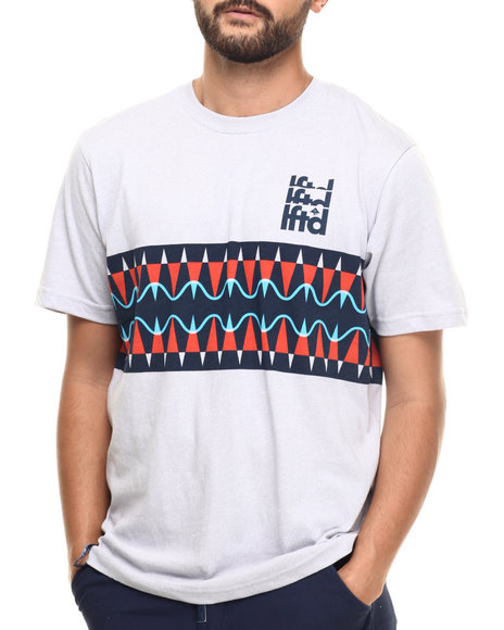 LRG - Men Grey Kore T-Shirt