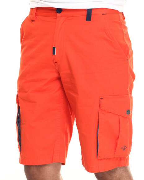 Lrg - Men Orange Nouvel Cargo Short