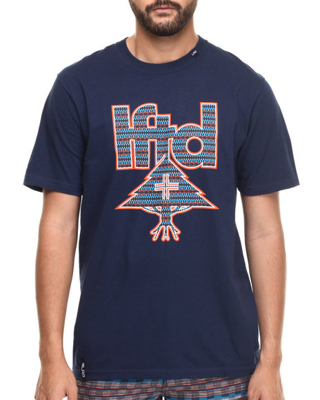 Lrg - Men Navy Hunter Mark T-Shirt - $24.99
