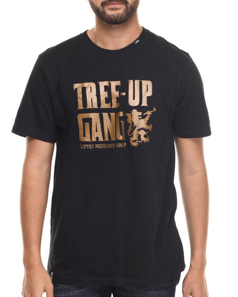 LRG - Men Black Tree Up Gang T-Shirt