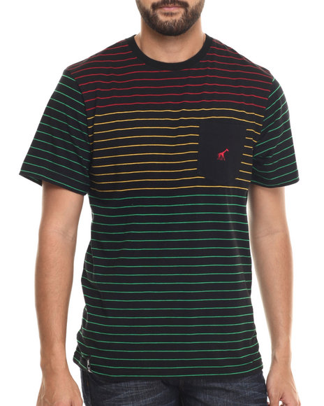 Lrg - Men Black Rc Stripe T-Shirt
