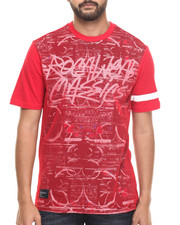 Shirts - Mesh Overlay Tee