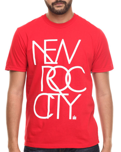 Rocawear - Men Red New Roc City Tee - $8.99