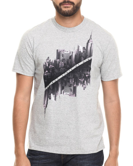 Rocawear - Men Grey City Of Gods Tee