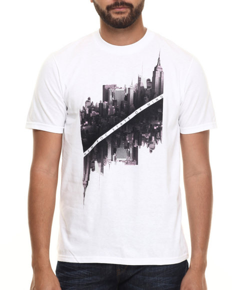 Rocawear - Men White City Of Gods Tee