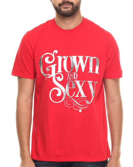 Rocawear - Men Red Grown Tee
