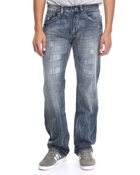 Ur-ID 217235 Rocawear - Men Medium Wash New Blue Jeans
