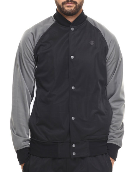 Rocawear - Men Black Roc Star Track Jacket - $27.99
