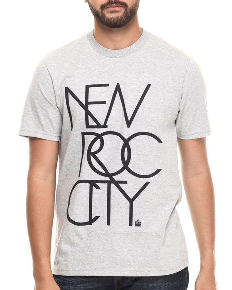 Rocawear - Men Grey New Roc City Tee