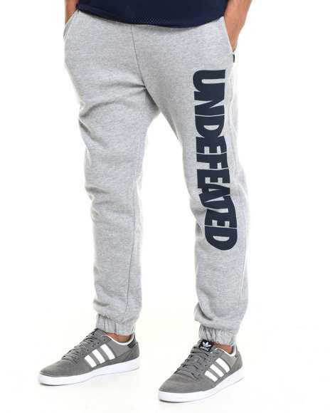 Ur-ID 217367 UNDFTD - Men Grey Undefeated Sweatpants