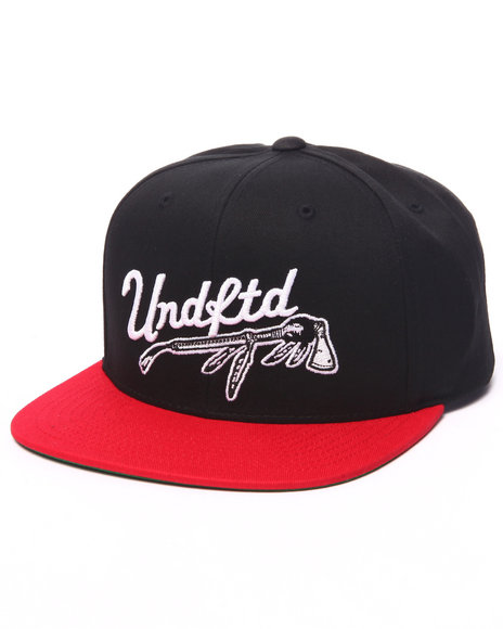 Ur-ID 223178 UNDFTD - Men Black War Paint Snapback Cap