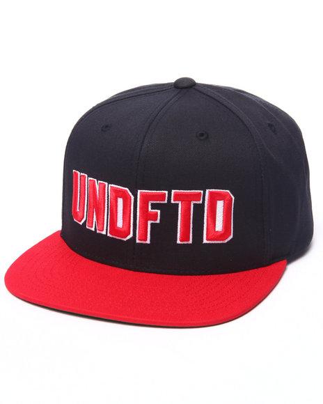 Ur-ID 223179 UNDFTD - Men Navy Layered Snapback Cap