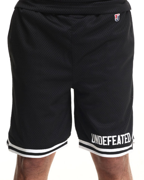 Undftd Black Shorts