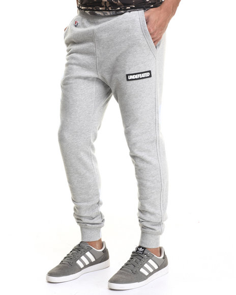 Ur-ID 217384 UNDFTD - Men Light Grey Sport Sweatpants