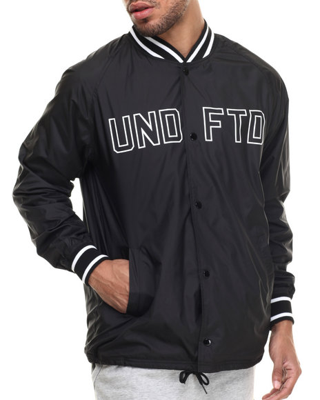Ur-ID 217395 UNDFTD - Men Black War Coaches Jacket