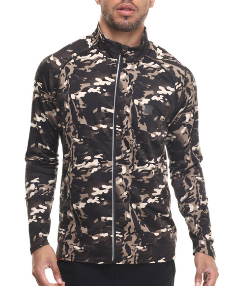 Undftd - Men Camo Op Camo Tech Full Zip