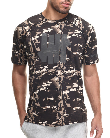 Undftd - Men Camo Op Camo Tech S/S Shirt