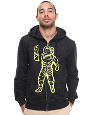 Billionaire Boys Club - GALAXY ASTRONAUT ZIP-UP HOODIE