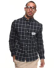 Shirts - SP15 PLAID BUTTON DOWN