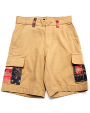 Bottoms - AMERICANA CARGO SHORTS (4-7)