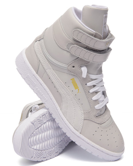 Ur-ID 216352 Puma - Women Grey Sky Ii Hi Basic Sports Sneakers