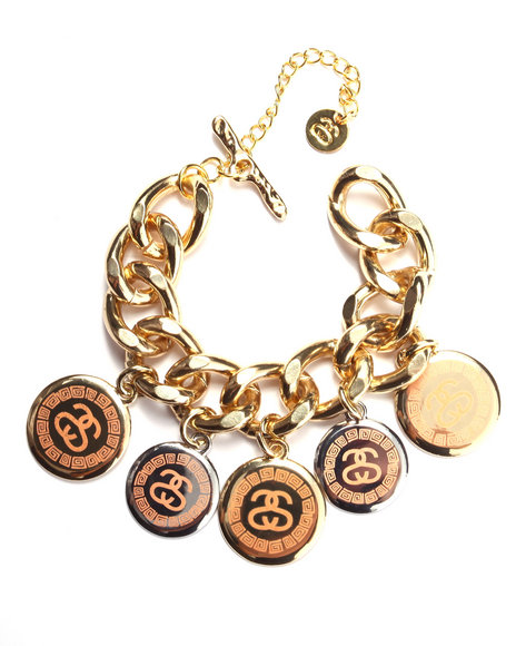 Stussy - Women Gold Sachi Bracelet