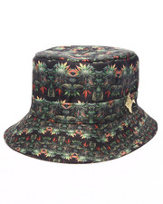 Men - Pradagy Weed & Buds Bucket Hat