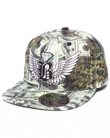 Ur-ID 223189 Buyers Picks - Men Green Pradagy Drug Money Snapback Hat