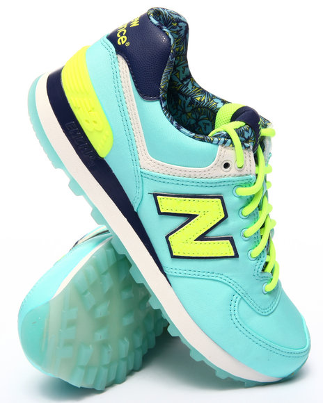 New Balance - Women Light Blue 574 Luau Collection Sneakers - $54.99