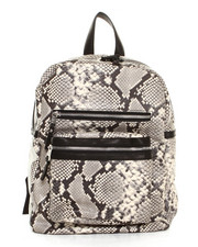 Handbags - Danica Python Backpack