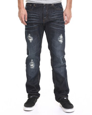 Men - Rip And Repair Denim Jeans