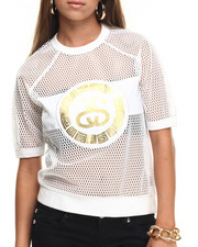 Women - MESH SWEATSHIRT