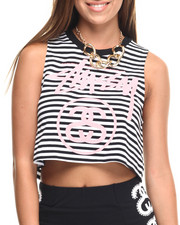 Women - CROPPED MUSCLE TEE