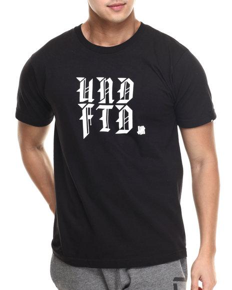 Ur-ID 217469 UNDFTD - Men Black Spitball Tee