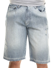 Men - DeWitt Light Wash Denim Shorts