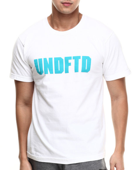 Ur-ID 217486 UNDFTD - Men White Undftd Block Tee