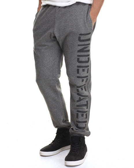 Ur-ID 217487 UNDFTD - Men Grey Tech Sweatpants