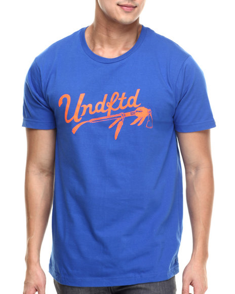 Ur-ID 217491 UNDFTD - Men Blue Native Tee