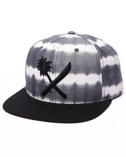 Men - Crosscut Dyed Snapback Cap